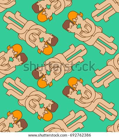 swinger party seamless pattern