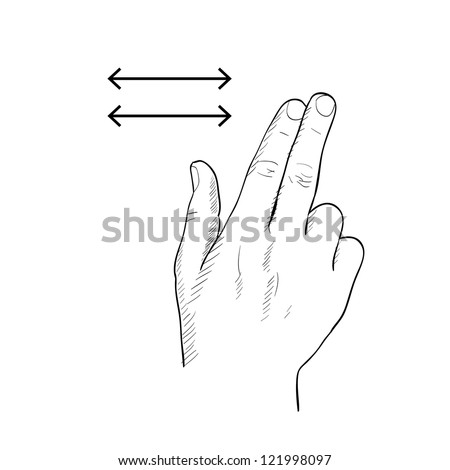 Swipe to navigate gesture