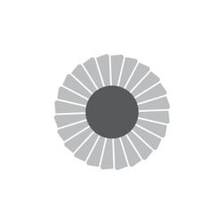 swirl turbine fast motion design logo vector