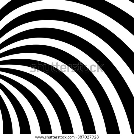 Swirl, vortex background. Rotating spiral