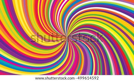 Swirling radial background. Vortex background. Helix background. Colorful vector background.