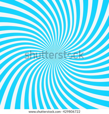 Swirling radial  background. Vortex background. Helix background. Vector background.