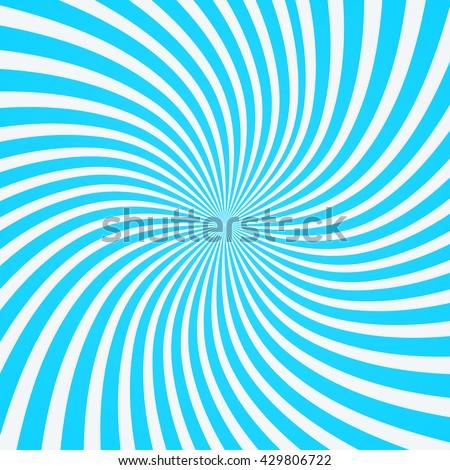 Swirling radial  background. Vortex background. Helix background. Vector background.