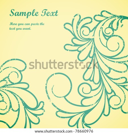Swirls pattern.	Vector illustration of swirl pattern