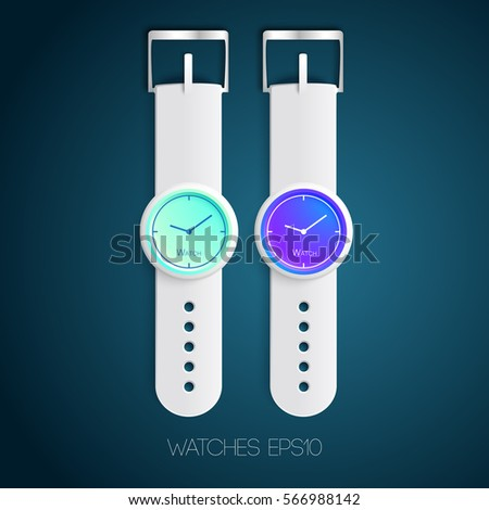 swiss watches template with