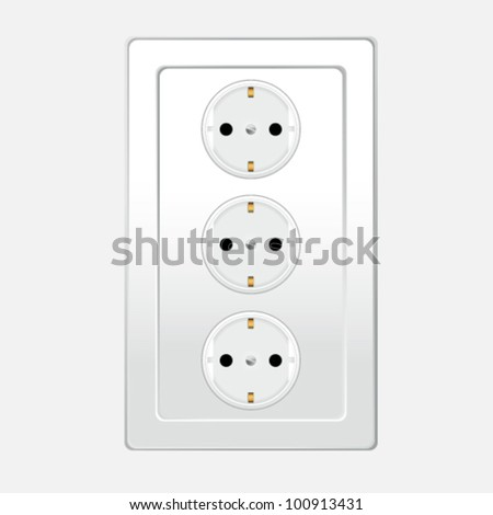 switch one for home illustration art vector