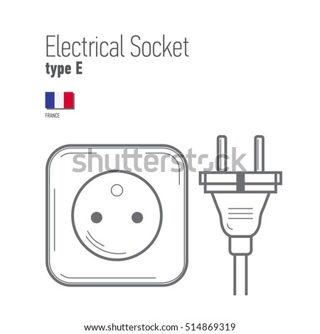 switches and sockets set type