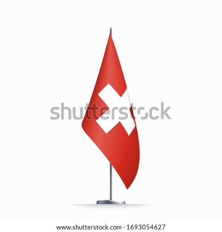 switzerland flag state symbol