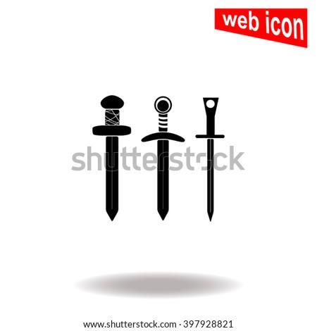 sword icon sword icon vector