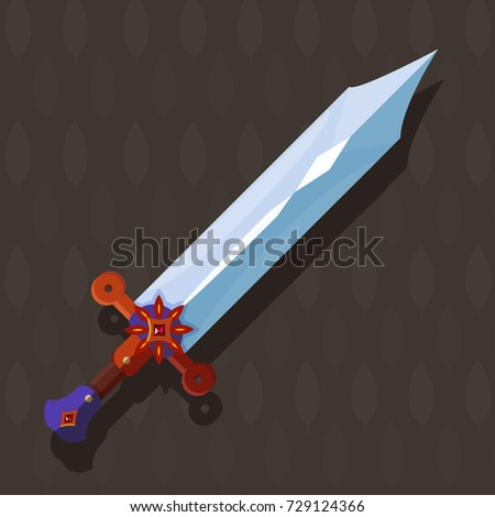 sword magical sword with