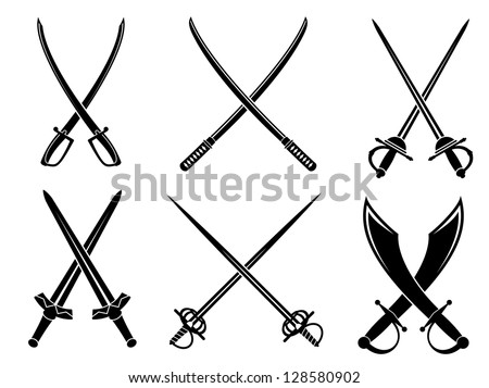 swords  sabres and longswords
