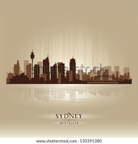 sydney australia skyline city