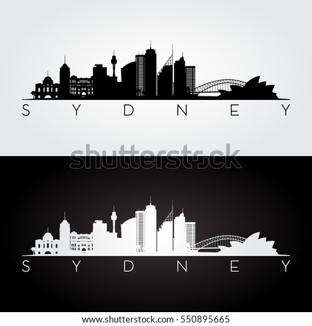 sydney skyline and landmarks