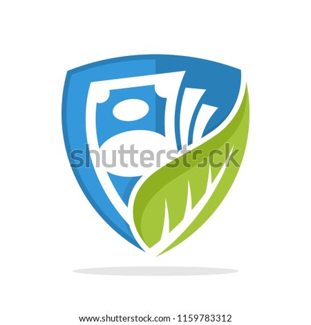 symbol illustration icon with the concept of investment finance business protection