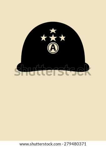 symbol illustration of a helmet