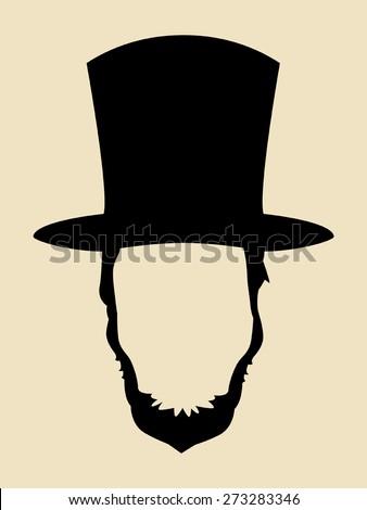 symbol of a man with beards...