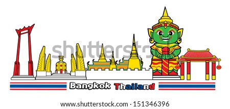 symbol of bangkok city thailand 2
