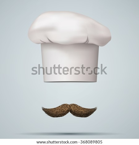 symbol of chef cap toque and