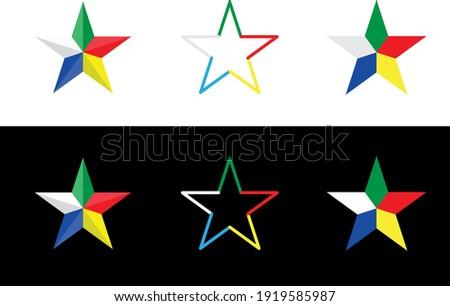 Symbol of Druze , Vector illustration  Сток-фото ©