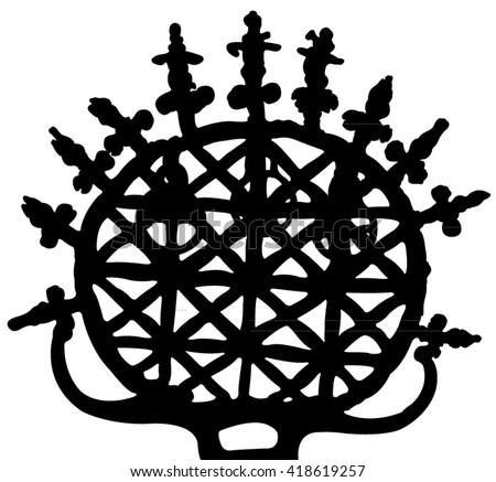 symbol of hittite silhouette