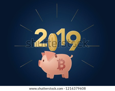symbol of the chinese  2019 new