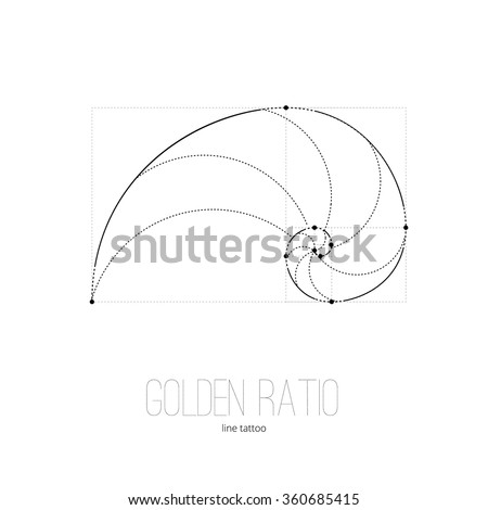 symbol of the golden ratio