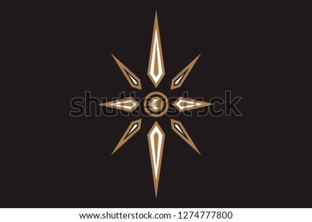 Symbol on the theme of Illuminati symbols, masonic sign, all seeing eye, occult, alchemy, mystic, esoteric, religion, masons on background. Can be used for tattoo or t-shirt design