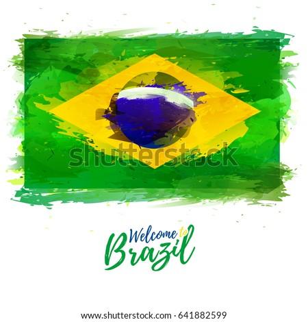 symbol  poster  banner brazil