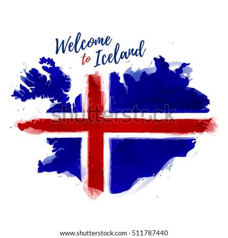 symbol  poster  banner iceland
