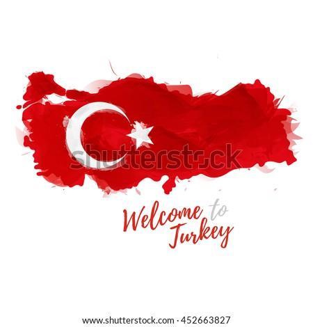 symbol  poster  banner turkey