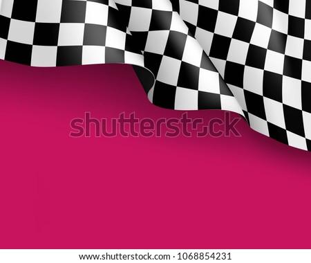 symbol racing canvas realistic