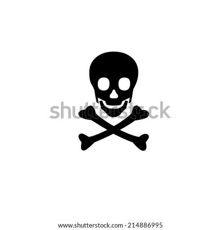 symbol skull danger