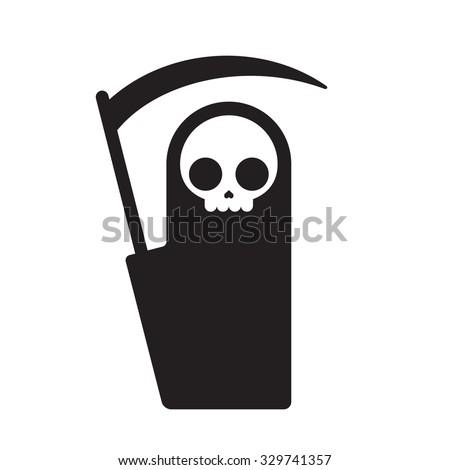 symbolic grim reaper  simple