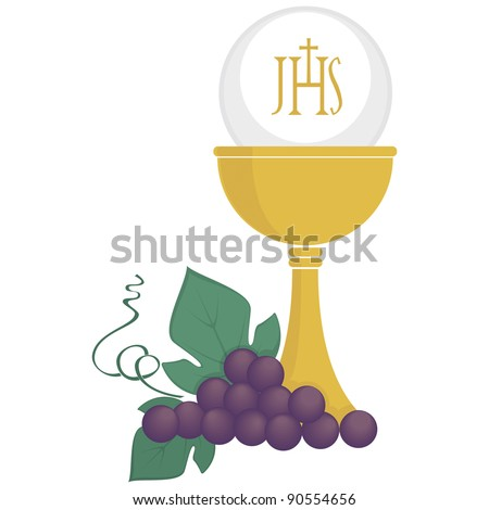 Symbolic illustration for christianity religion