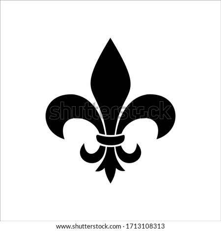 symbolic image Fluer de lis Photo stock ©