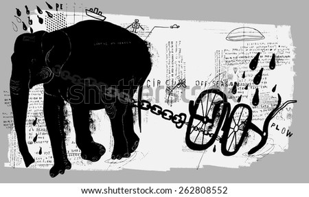 symbolic image of an elephant
