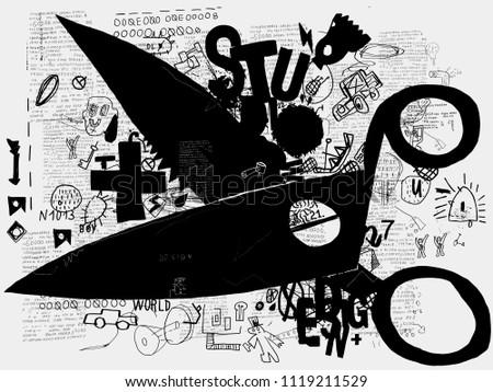 Symbolic image of scissors