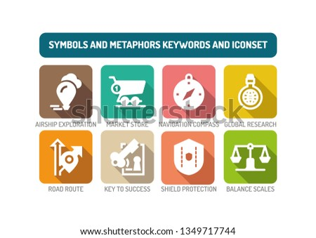 Symbols and Metaphors Concept