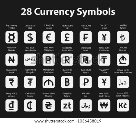 Currency Peso Symbol Vector Download Free Vector Art Stock