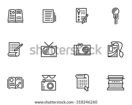 symbols of media publishing