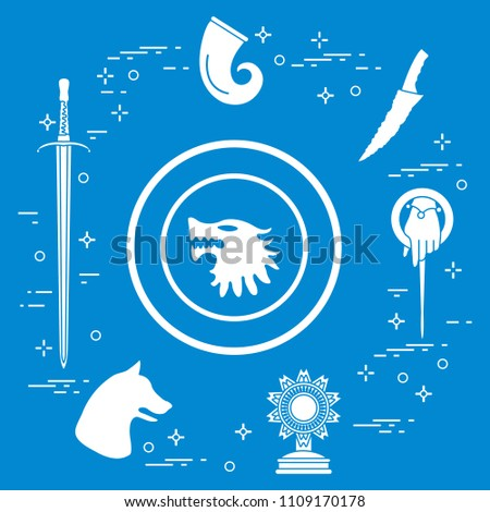 symbols of the popular fantasy