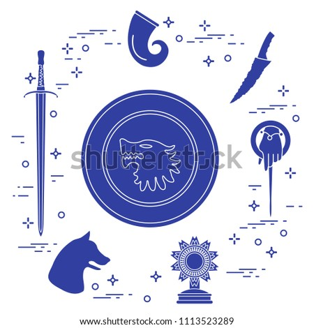 symbols of the popular fantasy