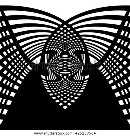 symmetric vector illustration