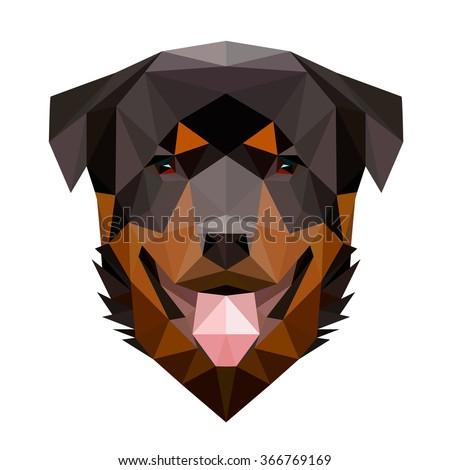 symmetrical vector illustration ...