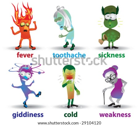 symptoms of disease