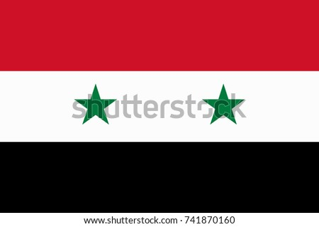 syria vector flag vector