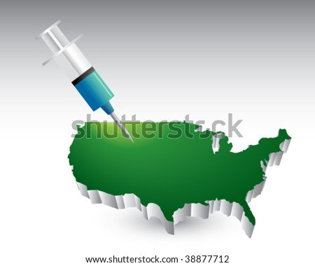 syringe featured with the united states