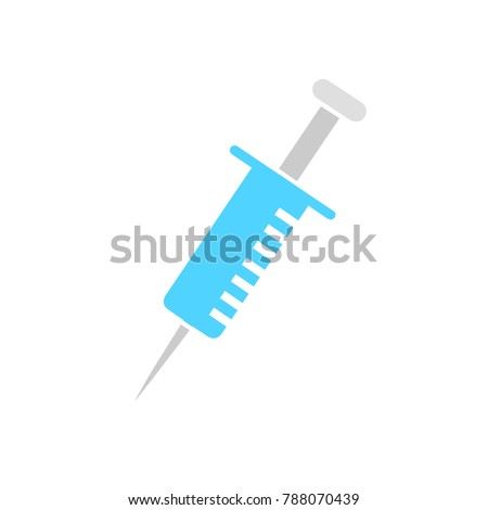syringe icon - injection sign