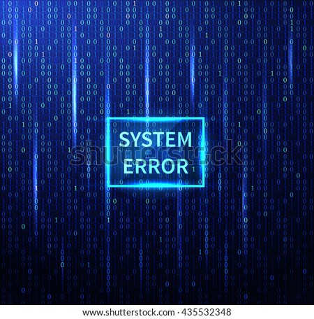 system error futuristic