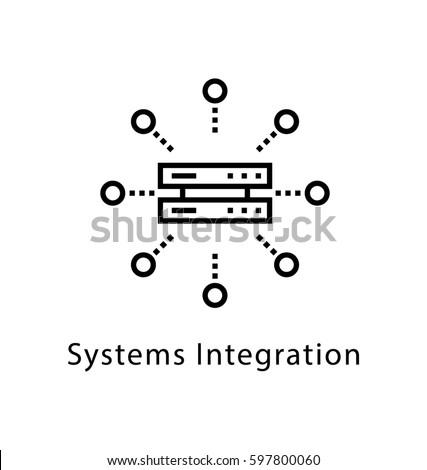 system integration vector line
